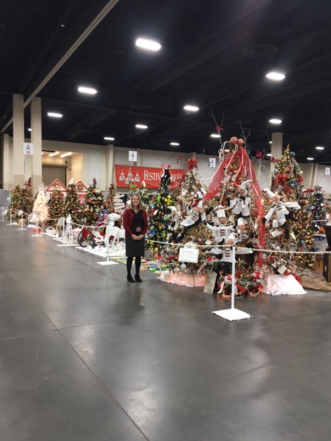 Anna at Festival of Trees