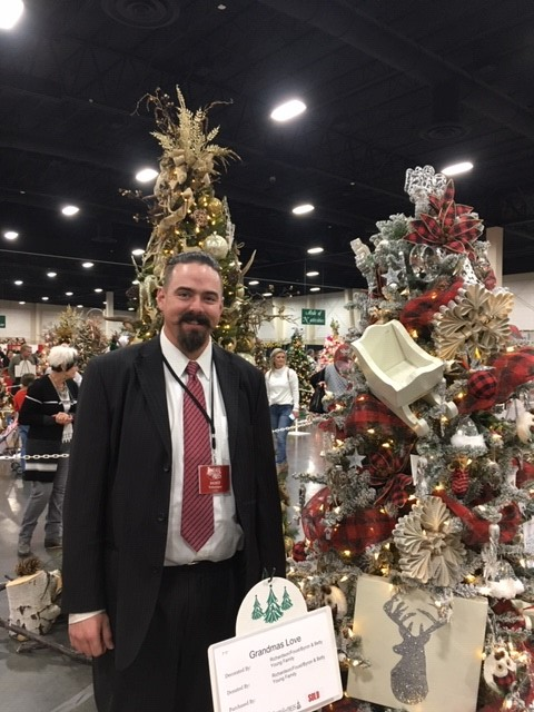 Wes at Festival of Trees