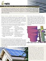 Energy Services brochure